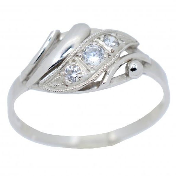 Prsteny bílé zlato