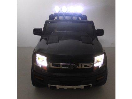 Cabrio Long EVA penové kolesá elektrické auto malypretekar čierne
