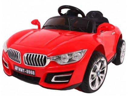 Elektrické autíčko Cabrio B16 malypretekar orava hračky hrackarstvo biela červená MP3 USB 1 removebg preview