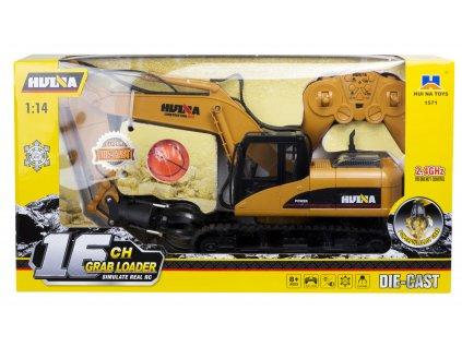 RC H Toys Pásový bager s drapákom 1571 114 malypretekar hracky hrackaren orava RC modely RC vozidlá na diaľkov ovládanie (5)