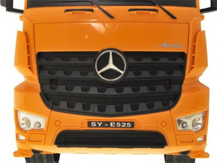RC MODEL DOUBLE E Mercedes Benz Arocs Dump 1 20 2,4 GHz 4,8V batéria malypretekar hrackarstvo hracky (8)