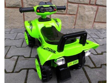 Detské odrážadlo vozidlo Quad J5 červený zelený malypretekar orava liesek hracky (10)