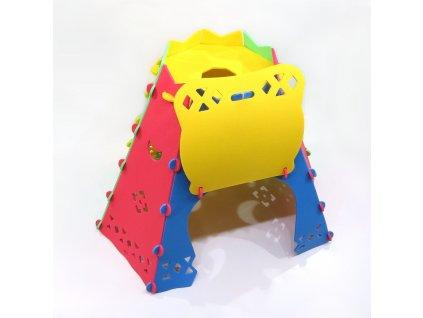 Penový stan Tee Pee malypretekar detská izba detská izbička penové hracky