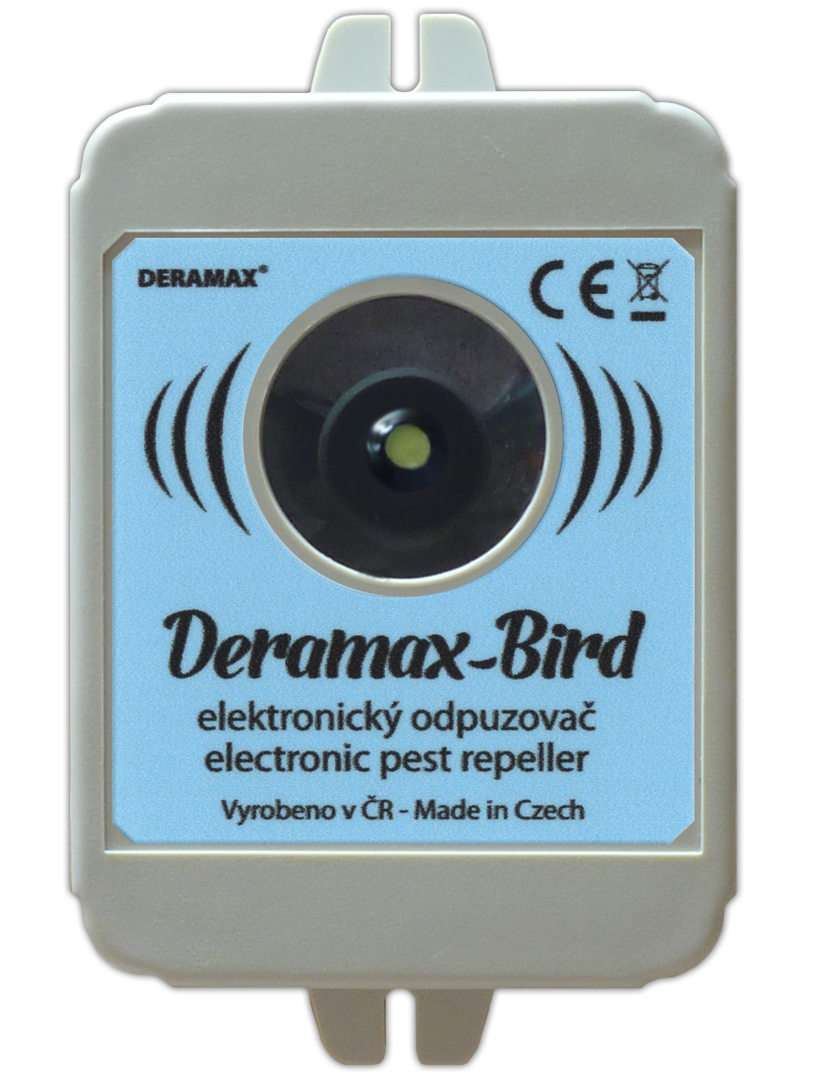 Plašič ptáků Deramax bird