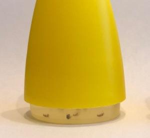 Žlutý mini lapač octomilek