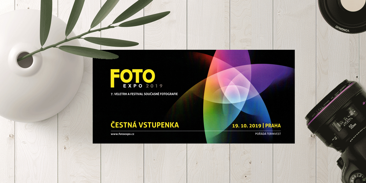 Soutěž o vstupenky na Fotoexpo 2019