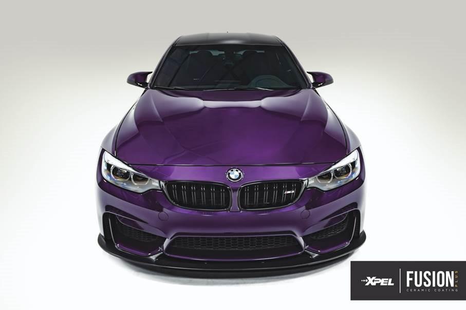 xpel_fusion_ceramic_coating_bmw_purple