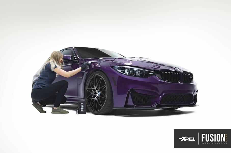 xpel_fusion_ceramic_coating_purple_bmw