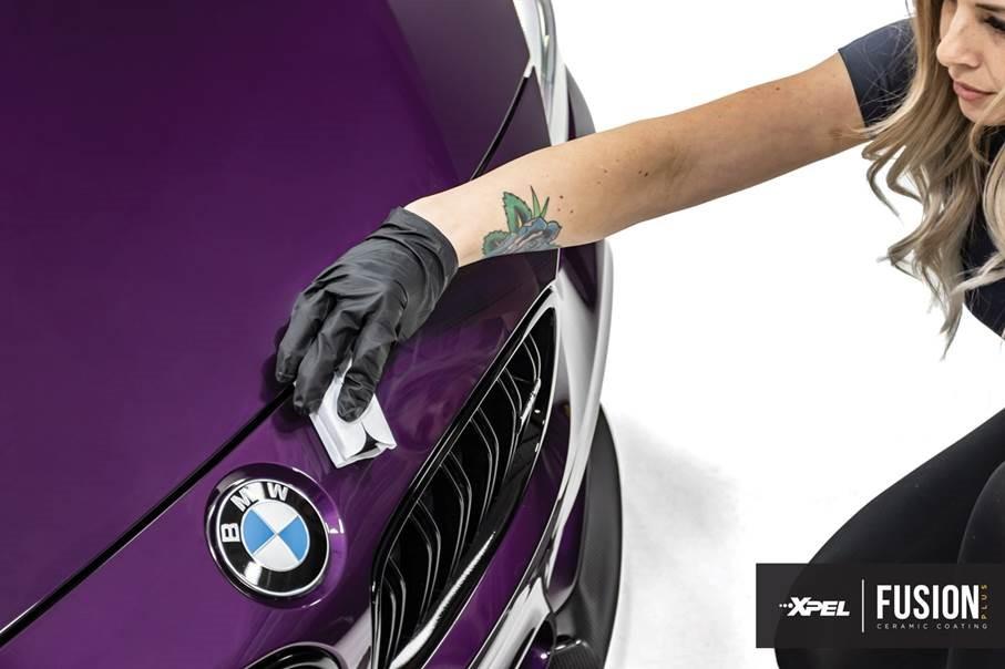 xpel_fusion_ceramic_coating_purple_bmw_m3