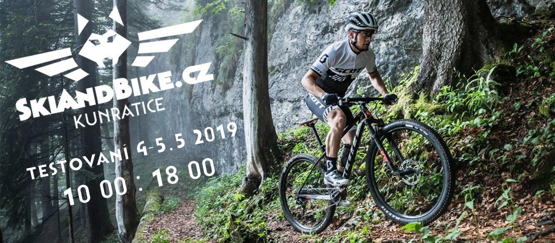 SkiAndBike.cz testování modelů 2019 květen