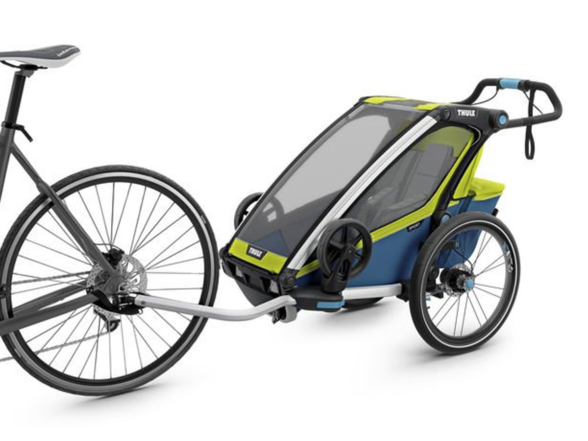THULE CHARIOT SPORT 1 BLUE & GREEN