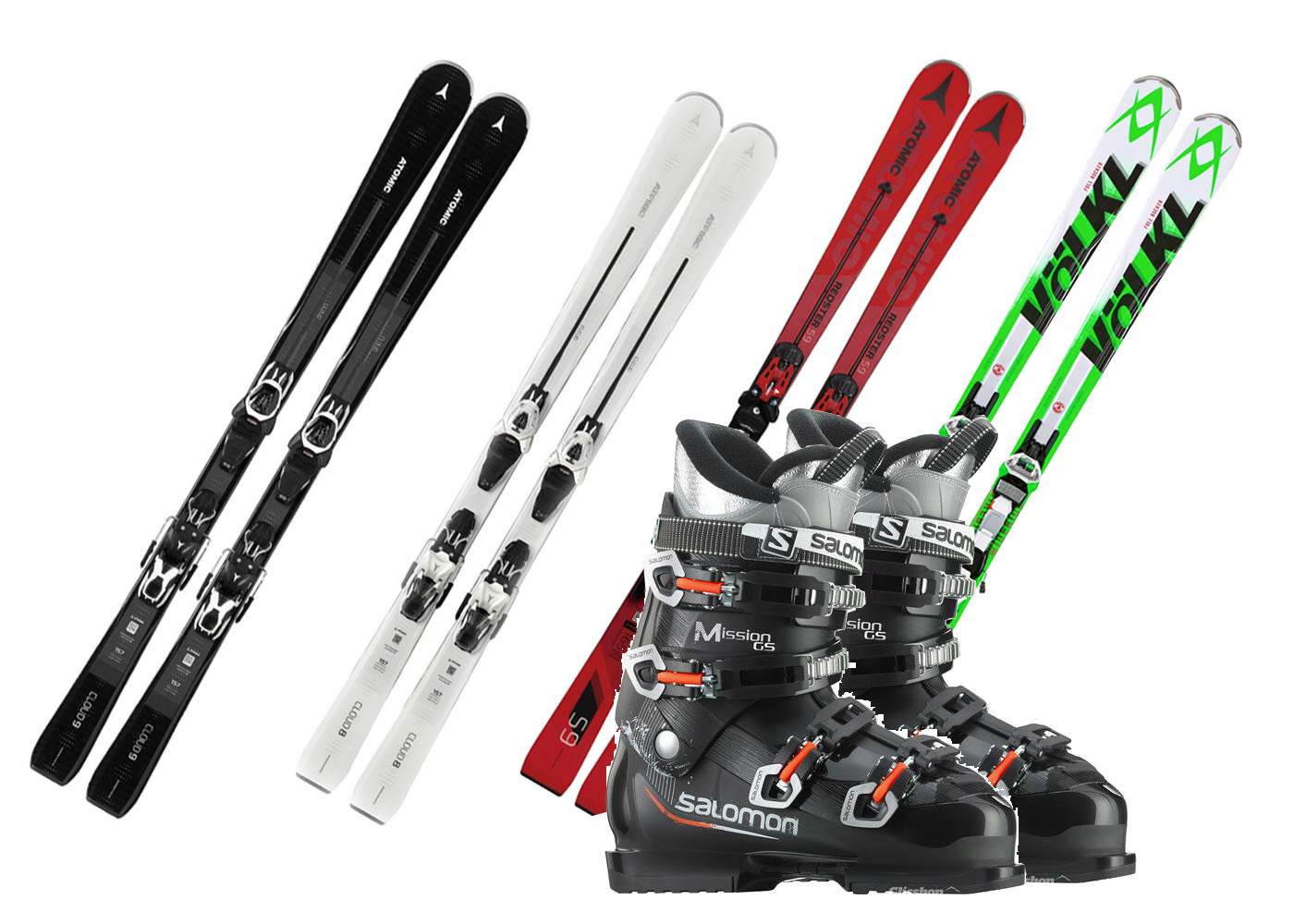 PŮJČOVNA lyží SkiAndBike Kunratice