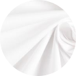 Mikela da Luka - bílý elastický bavlněný popelín