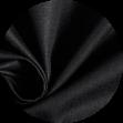 Mikela da Luka - černý elastický bavlněný popelín