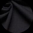 Mikela da Luka -  černý elastický bavlněný jednolícní uplet