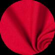 Mikela da Luka -  červený elastický bavlněný jednolícní uplet