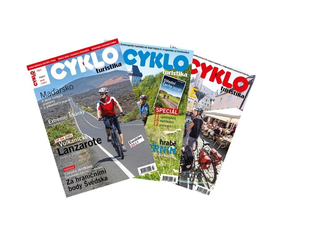 časopis Cykloturistika inverze
