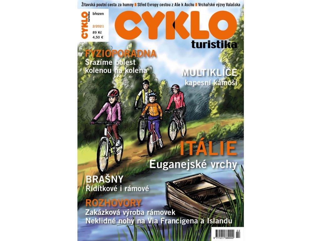 Cykloturistika č. 2/2021 elektronicky