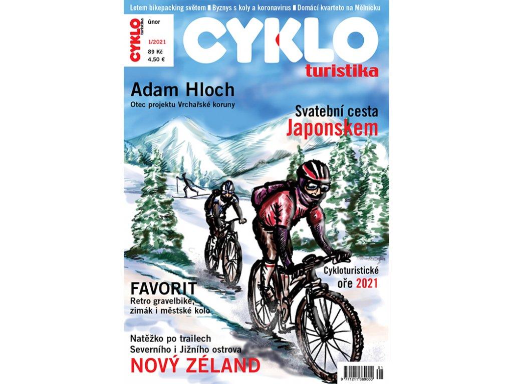 Cykloturistika č. 1/2021 elektronicky
