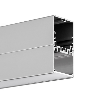 led profil klus 4050-w anodizovaný
