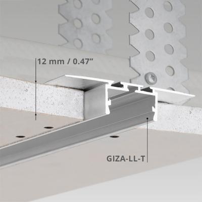 led lichtleisten klus giza-ll-t rohaluminium