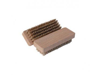 Kartáček na semiš - dřevěný