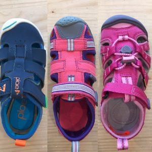 Letné sandále Plae, Pediped a Keen