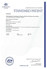 LOGITEX_patent_Australia