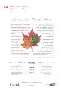 LOGITEX_patent_Canada