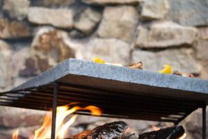 pečící grilovací kámen žulový a lávový