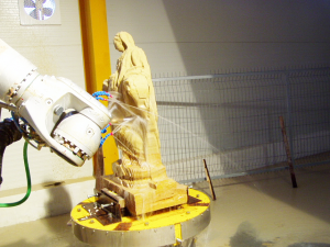 obrabeni robotem