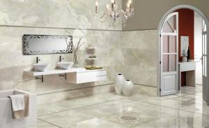 mramorová koupelna a umyvadlo
