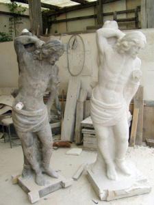 restaurování soch a kulturních památek