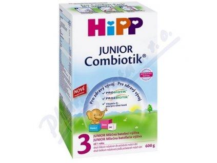 Hipp mléko JUNIOR Combiotik 3  600g