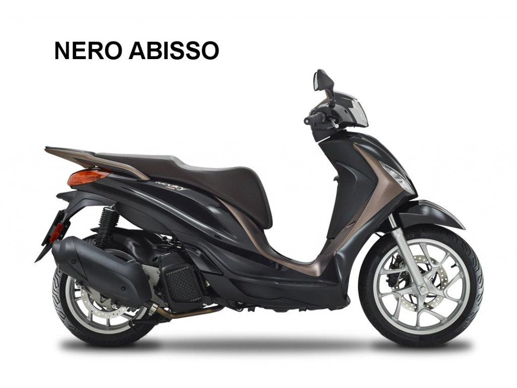 Piaggio Medley 2 125 150 nero abisso color range 20