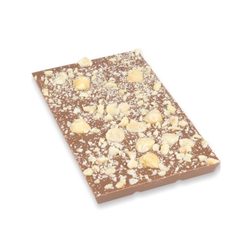 čokoládová tabulka 100g - lískový ořech