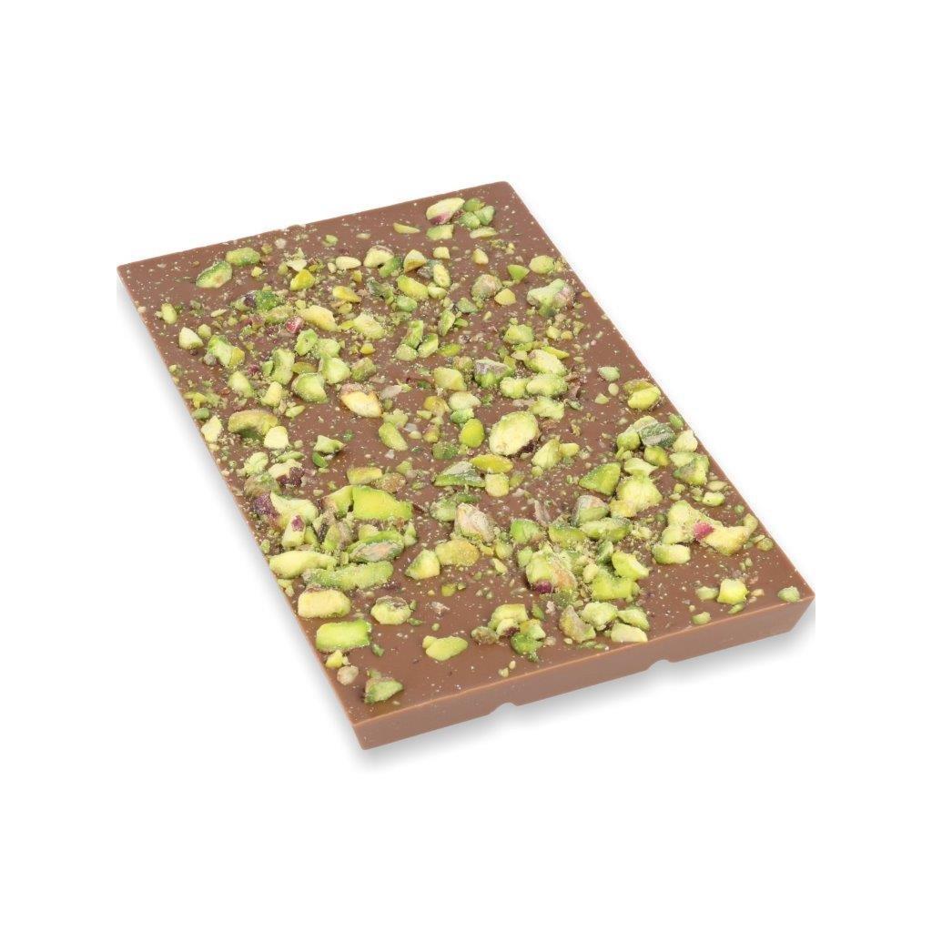 čokoládová tabulka 100g - pistácie