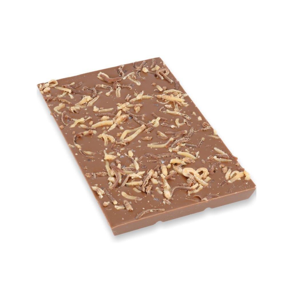 čokoládová tabulka 100g - slaný karamel