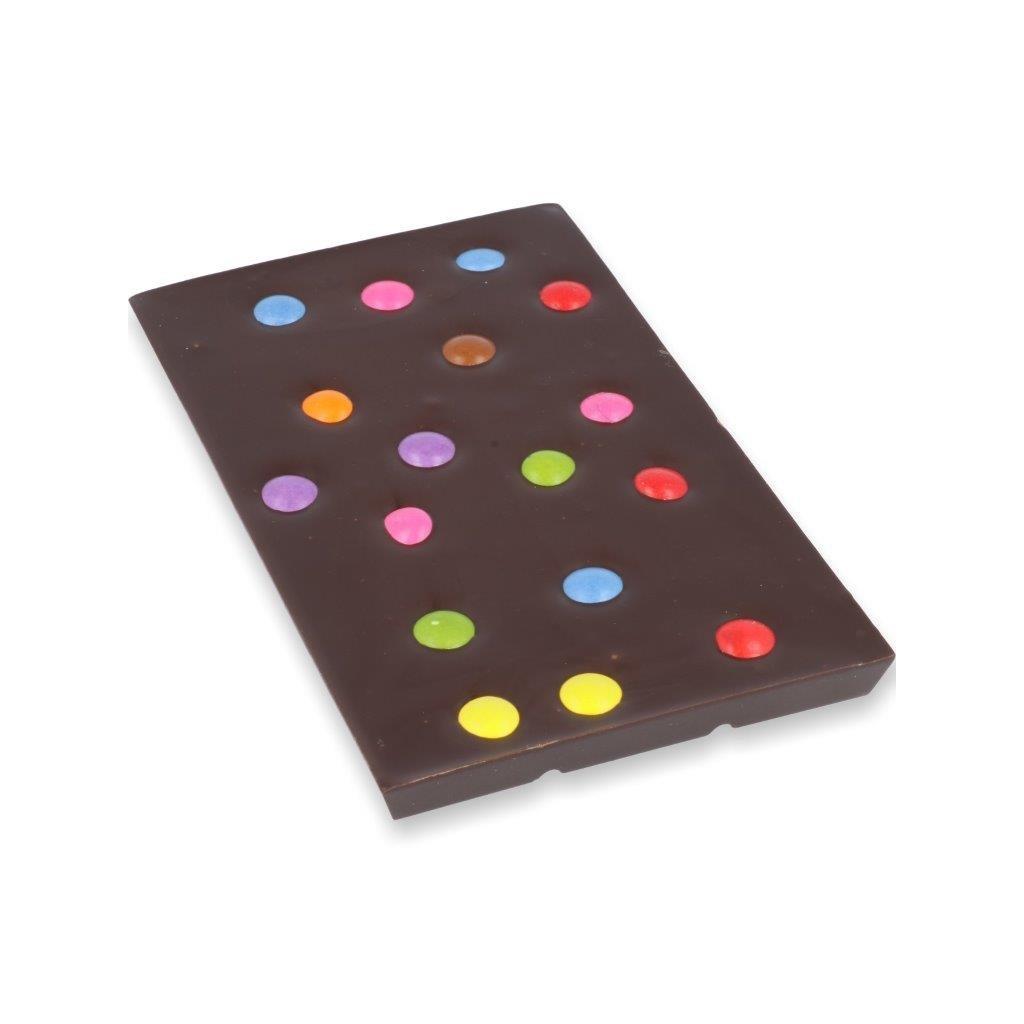 čokoládová tabulka 100g - lentilky