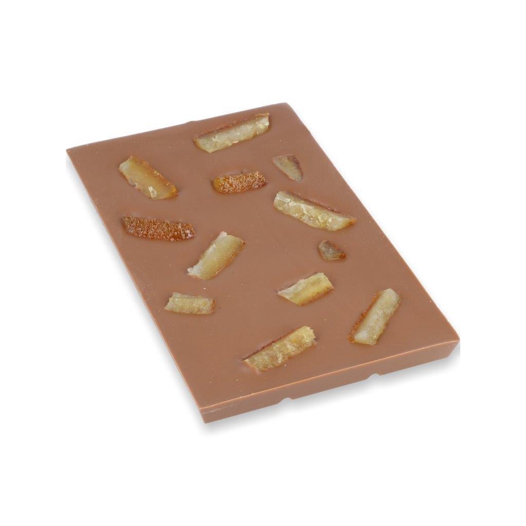 čokoládová tabulka 100g - pomerančová kůra