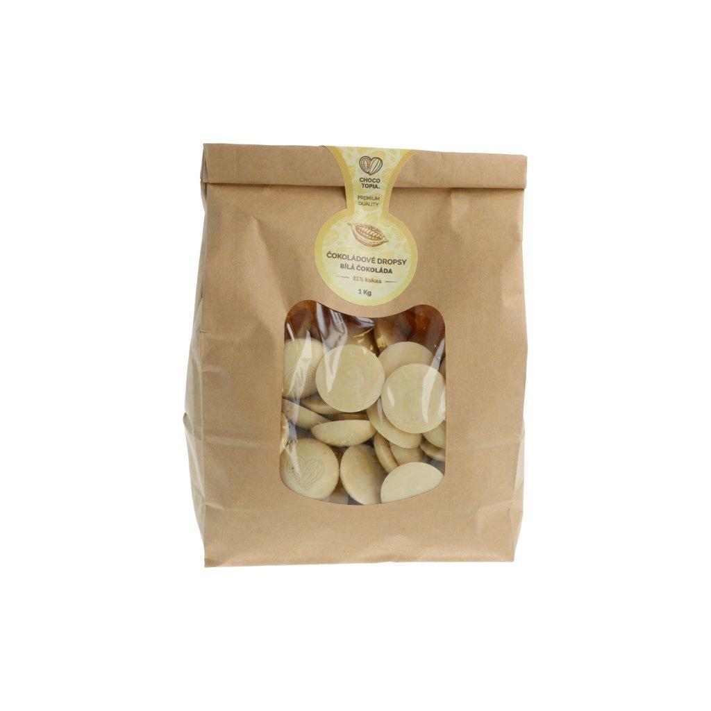 Bílá čokoláda Chocotopia 31% dropsy 1kg