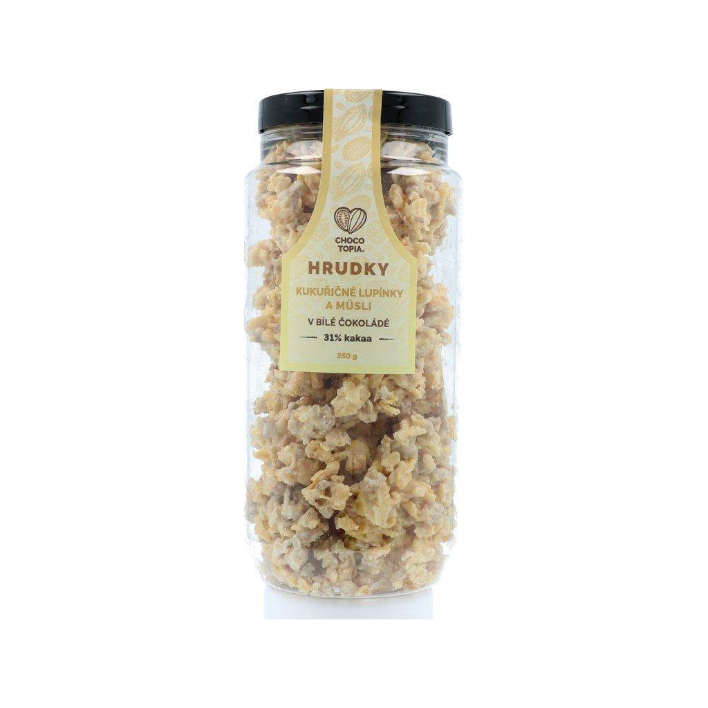 Hrudky cornflakes + müsli – dóza 250g