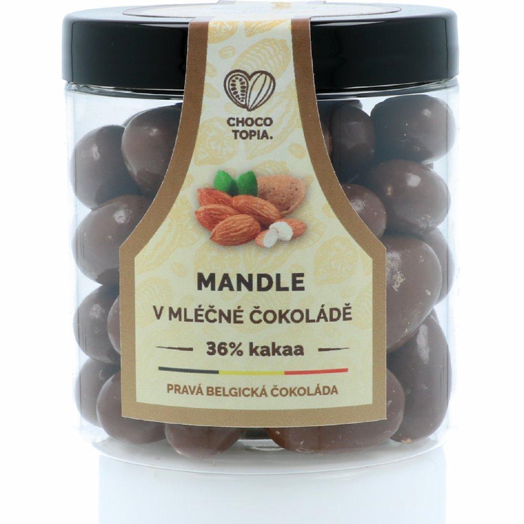Mandle v čokoládě – dóza 160 g
