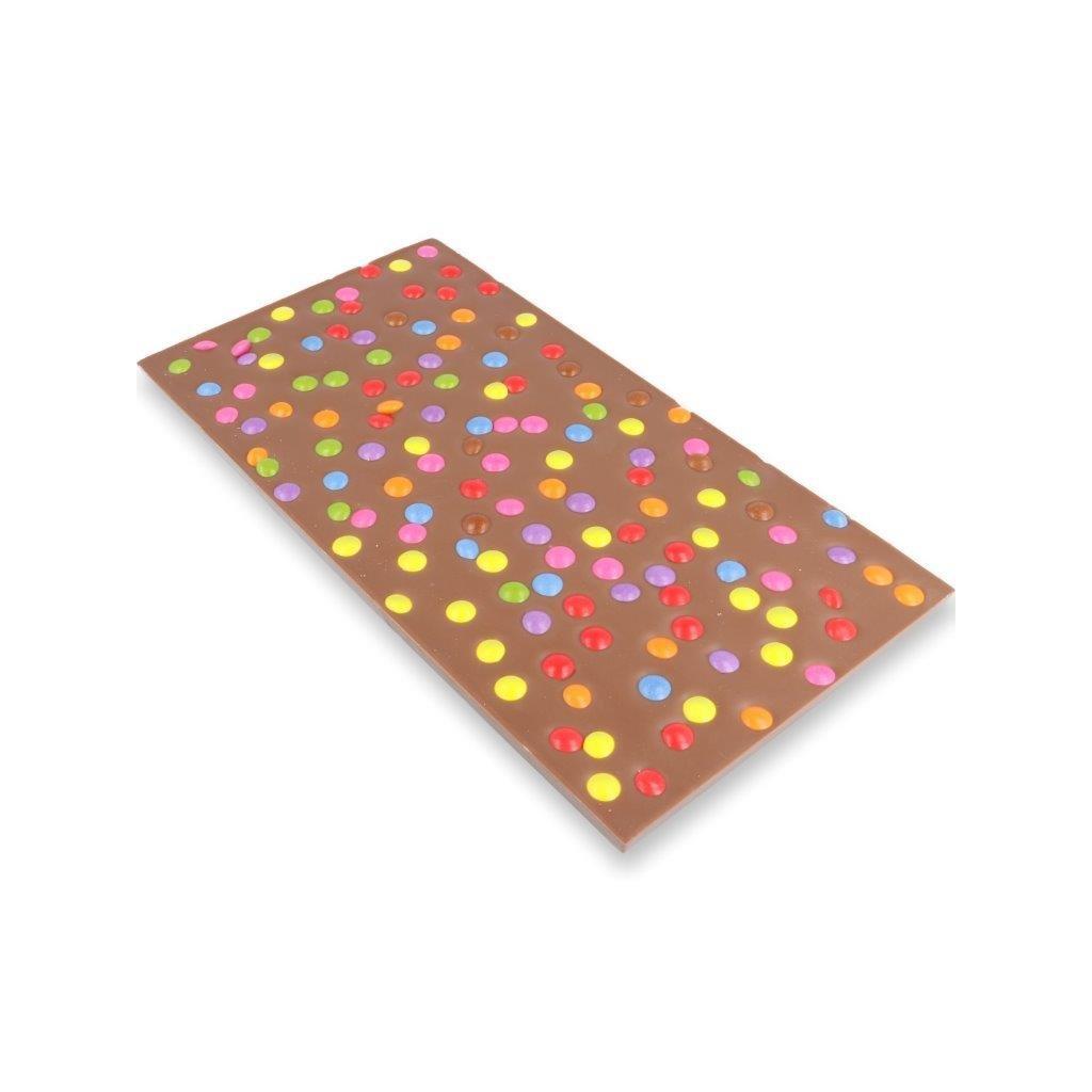 Čokoládová tabulka 300g - lentilky