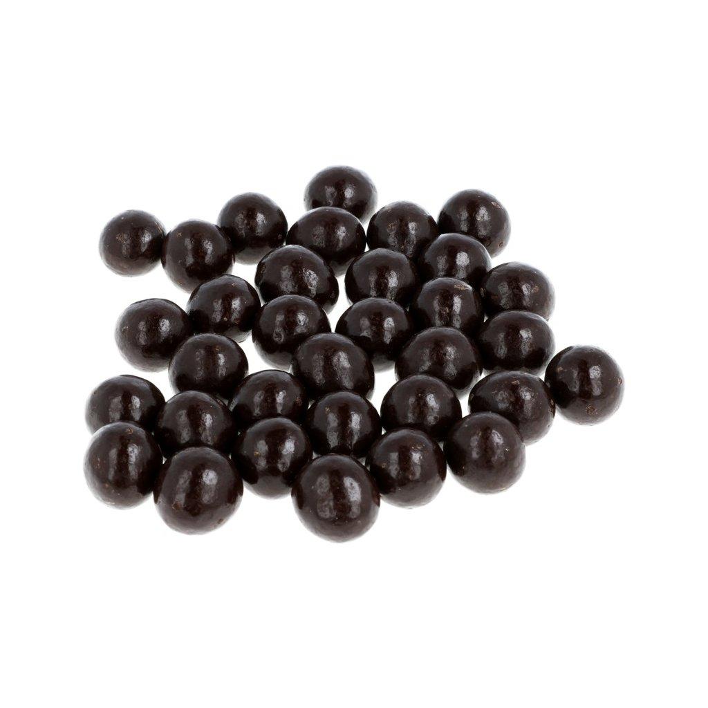 Lískové ořechy v čokoládě - hořké 72% BEZOBAL
