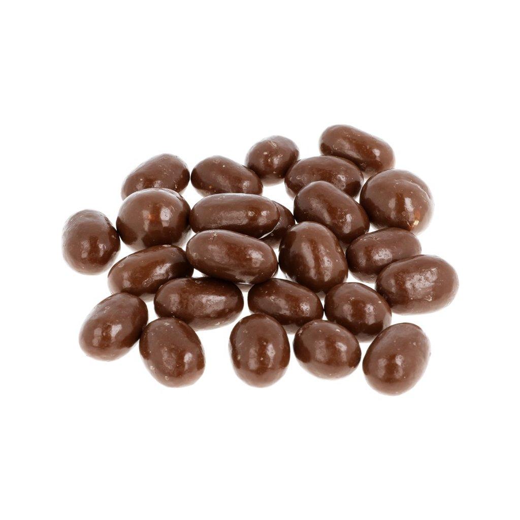 Mandle v čokoládě - mléčné 36% BEZOBAL