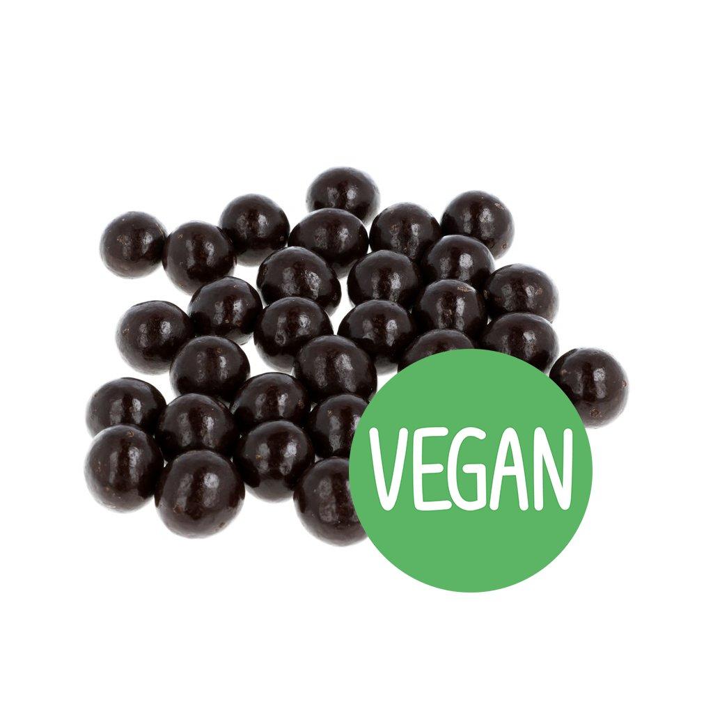VEGAN Lískové ořechy v hořké čokoládě 72% BEZOBAL