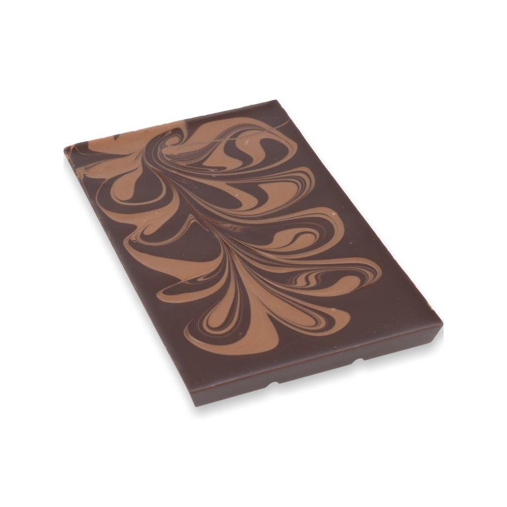 Čokoládová tabulka 100g – mléčný mramor