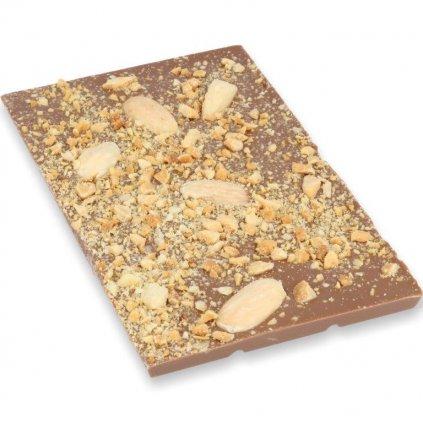 čokoládová tabulka 100g - mandle