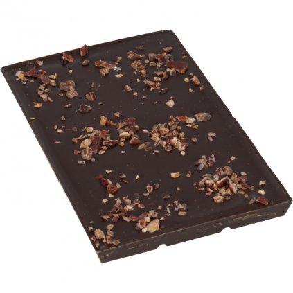 100g bar - cocoa nibs CRIOLLO